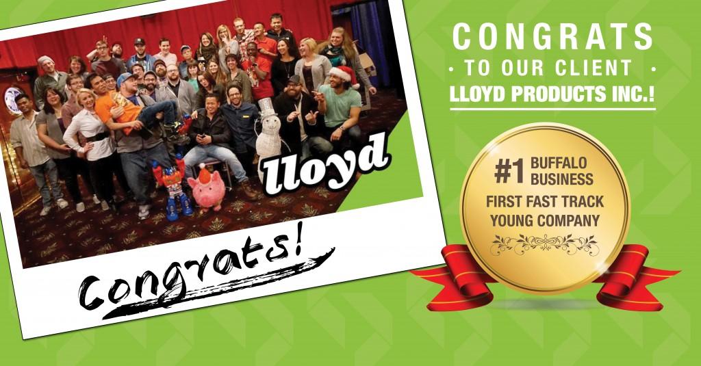 Congratulations Lloyd's